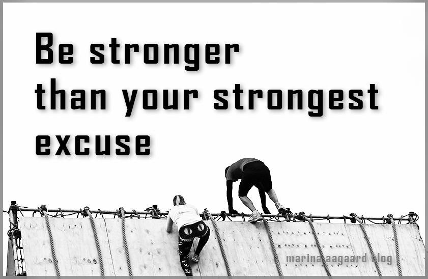 citater om fitness Motivation? Citat: Ud med undskyldninger | Marina Aagaard citater om fitness